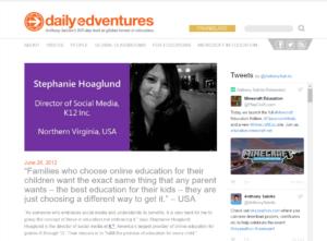 Daily Edventures - Stephanie Hoaglund