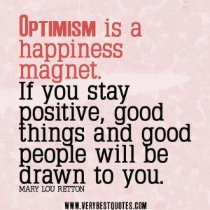 Optimism is a Magnet