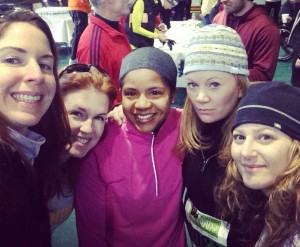 HIghbar CrossFit Ladies Doing a 5K in Leesburg VA