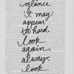 Life Happens So Always Look Again