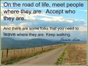 Accept where they are quote