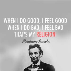 abe Lincoln Quote