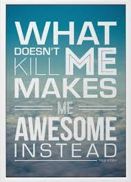 Be  Awesome Instead