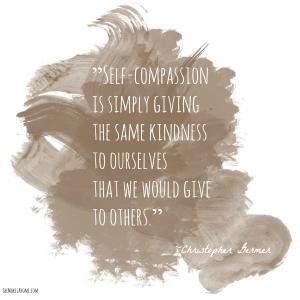 self compassion quote