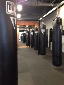 Boxing at Title Boxing Club in Ashburn, VA