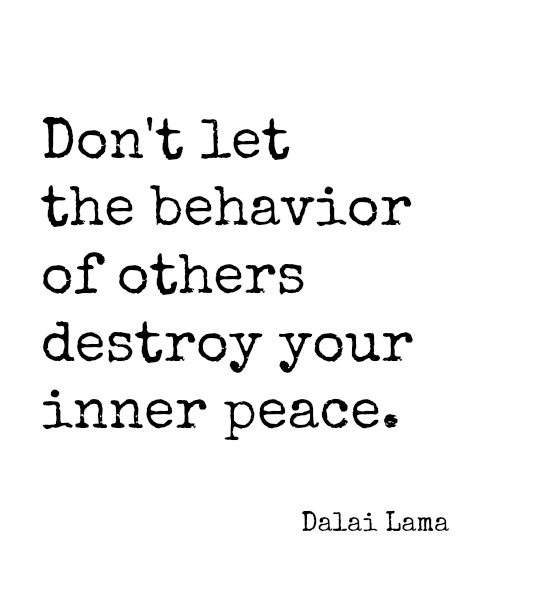 Dont Destroy Your Inner Peace