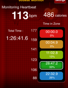 Yoga Heart Rate Data