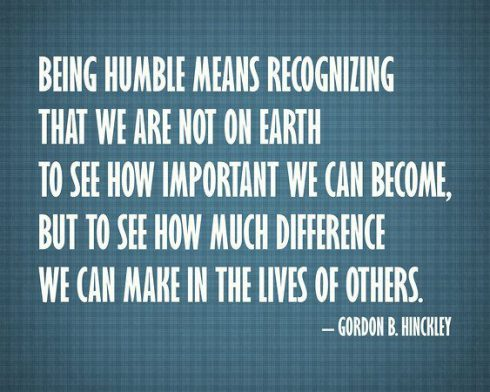 Being Human Quote