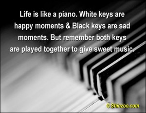 Life is Like A Piano