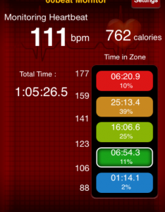 Boxing heart rate data 8.20.14