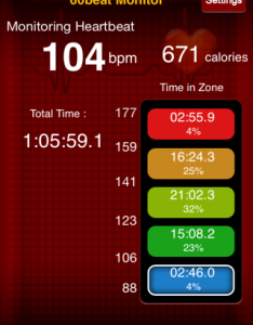 Boxing Heart Rate 81714
