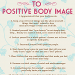 Developing a Positive Body Image