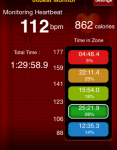 Heart Rate from Boing