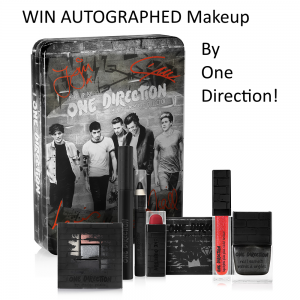 Win One Direction Looks Makeup Collection Autographed by the Band