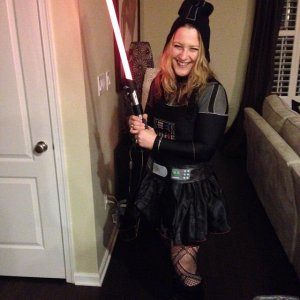 Me as Darth Vader