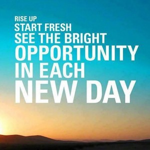 Start Fresh Each Day