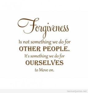 Forgiveness: Live Fit and Sore