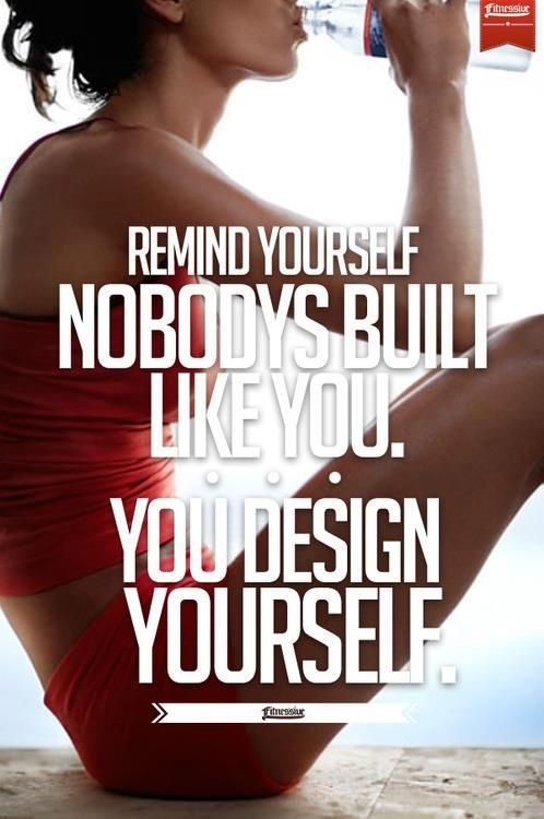 design yourself - live fit and sore