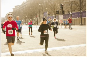 Stephanie Hoaglund - Running the Scope for Life 5K Washington DC