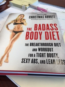 the BADASS Body Diet - Christmas Abbott