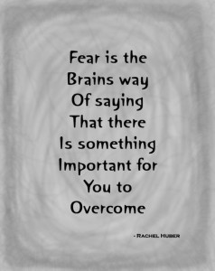 Fear Quote -Live Fit and Sore