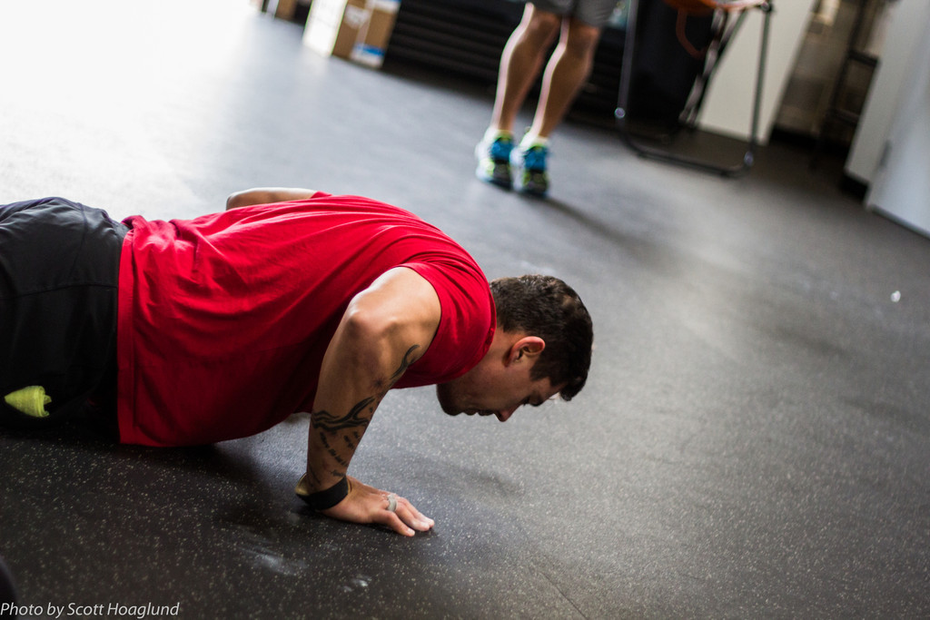 How do you train for push ups?