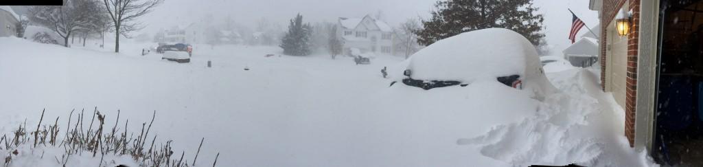 Jonas snow storm