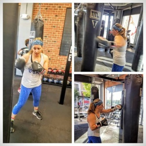 Stephanie Hoaglund -Live Fit and Sore: Boxing