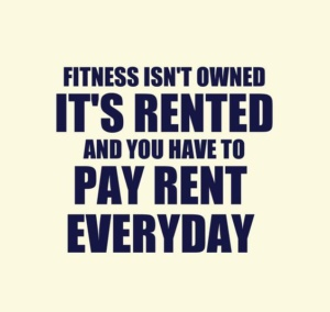 Fitness is Rented
