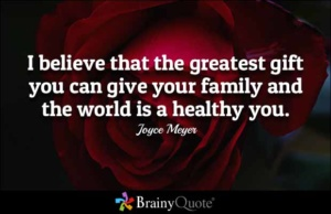 I believe that the greatest gift you can give your family